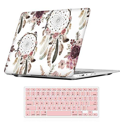 iLeadon MacBook Pro 15 Zoll Hülle mit CD-ROM 2008-2012 Release Modell A1286 Gummi Hard Shell Cover + Tastatur Cover für MacBook Pro 15
