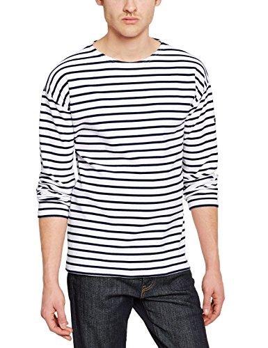 armor-lux-1525-t-shirt-da-uomo-manica-lunga-biancoblanc-400-blanc-navire-l