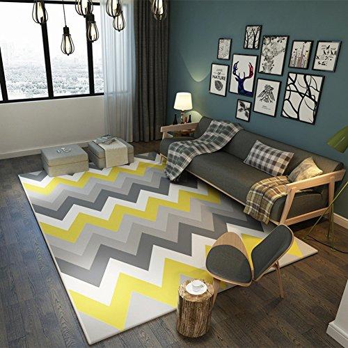 XDDAXYY Moderno IKEA Alfombra Salón Sofá Mesa Alfombra Dormitorio Completo Rectangular Hom-g...