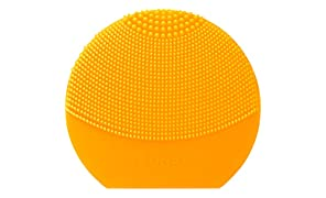 FOREO LUNA play plus Facial Cleanser Brush, Sunflower Yellow