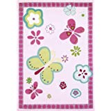Designers Guild Alfombra infantil / niño Elgin Flower Rosa 120x170 cm