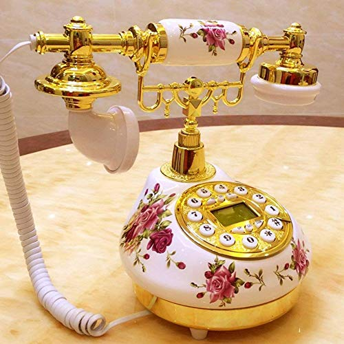 CN Schnurgebundene Telefone Arbeiten Antikes Telefon Retro Im Europäischen Stil Altmodischen...