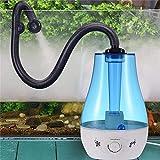 Atomizzatore Dispenser Nebulizzatore d'Acqua Rettile Umidificatore 3L Serbatoio Cingolato Scatola Atomizzatore Dispenser Nebulizzatore d'Acqua per Lucertole Camaleonti Serpenti Terrario