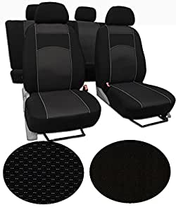 Housses de siège pour tOYOTA aVENSIS 2 super qualité, très longue durée au design vIP - 1
