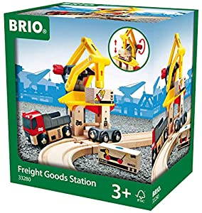 Brio 33280 - Grúa de carga de mercancías para vías de tren Brio importado de Alemania