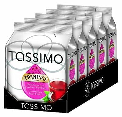 Tassimo Twinings Waldfrucht Tee, 5er Pack (5 x 16 Portionen) von Tassimo - Gewürze Shop