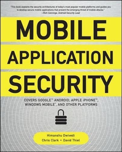 Preisvergleich Produktbild Mobile Application Security
