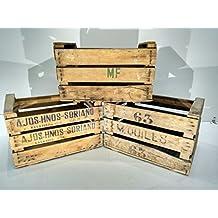 comprar cajas madera fruta