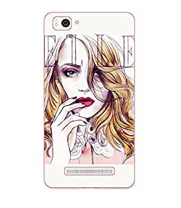 Happoz Xiaomi Redmi 3s Cases Back Cover Mobile Pouches Shell Hard Plastic Graphic Armour Premium Printed Designer Cartoon Girl 3D Funky Fancy Slim Graffiti Imported Cute Colurful Stylish Boys D180
