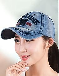 Outdoor Summer Automne Réglable Couple Baseball Cap Cap Cowboy Hat (5 couleurs en option)