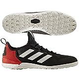 adidas Herren Ace Tango 17.1 in Indoor-Fußball-Schuhe, Schwarz (Negbas/Ftwbla/Rojo), 46 EU