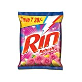 #8: Rin Refresh Lemon and Rose Detergent Powder - 4 kg (Save Rupees 20)