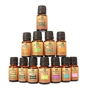 Ancient Living Set of 12 Essential Oils -(10ml each)