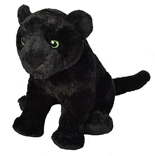 - Plüsch-Jaguar Cuddlekins, 30 cm, schwarz (Jaguar Kuscheltier)