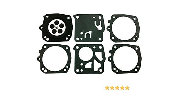 STC Cts Carburateur Joint diaphragme et kit Remplace Tillotson Dg-10hs pour Husqvarna K950/Partner K650/K700/K850/K1200