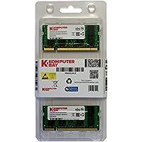 Komputerbay 2GB (2x1GB) DDR SODIMM (200 pin) 333Mhz PC2700 DDR333 MEMORIA PORTATILE