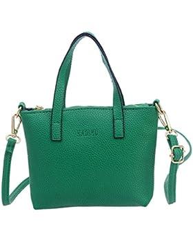 ZARU Frauen arbeiten Handtasche Schultertasche Large Tote Damen-Geldbeutel