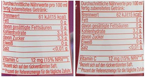 Sodastream 4er Sirup - Packung Schutzengel mit Heidelbeere (2x), Granatapfel, Cranberry (4 x 375ml) mit Vitamin C