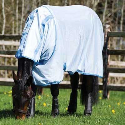 "Horseware Amigo Pferdedecke, Babyblau/Azurblau, 81\"""