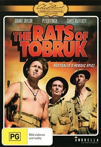 The Rats of Tobruk (1944) - DVD by Peter Finch, Chips Rafferty, Pauline Garrick Grant Taylor