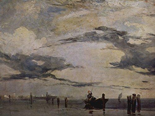 Lais Alu-Dibond Richard Parkes Bonington - Die adriatische Küste 40x30 cm