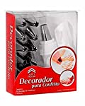 Generic 12 Piece Cake Decorating Set Frosting Icing Piping Bag Tips With Steel Nozzles. Reusable & Washable