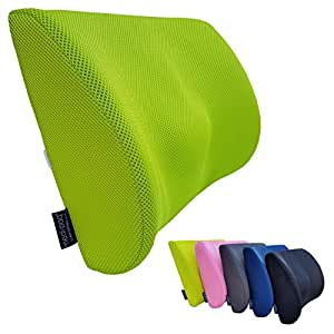 GreatIdeas™ Ultimate Breathable 3d Mesh Lumbar Car Cushion