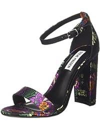 Friday, Zapatos de Vestir para Mujer, Nero (Black Suede), 38.5 EU Steve Madden