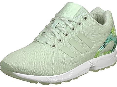 Adidas Torsion Zx Flux W - adidas Zx Flux, Sneakers Basses Femme, Vert