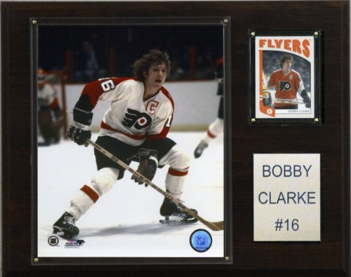 C & I Collectables NHL Bobby Clarke Philadelphia Flyers Spieler Plaque