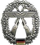 BW Barettabzeichen, Luftwaffensich.,Metall