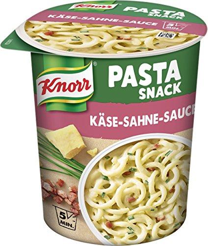 Knorr Pasta Snack Käse-Sahne-Sauce 1 Portion, 8er Pack