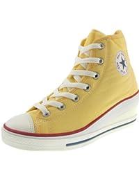 Maxstar 7 trous zippé à chaussures à talon compensé Sneakers