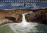 Island (Tischkalender 2016 DIN A5 quer): Landschaften, Natur, Wasserfälle, Nordlicht und Berge in Island im Norden Europas (Monatskalender, 14 Seiten ) (CALVENDO Natur)