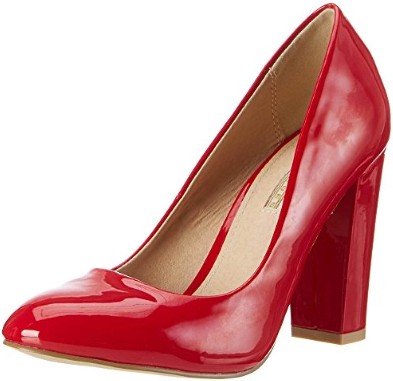 Buffalo Damen C354a-1 P2010l Patent Pumps 2018 Letztes Modell  Mode Schuhe Billig Online-Verkauf