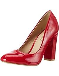 b386ff89832b2b Buffalo Women s C354a-1 P2010l Patent Closed Toe Heels