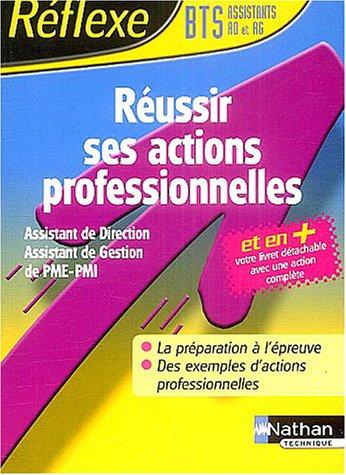 Réussir la CPAP-BTS assistant gestion PME-PMI