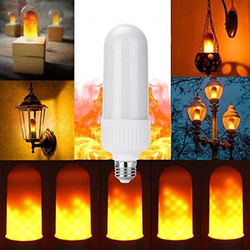 Halloween Licht Birne Zuhause Bar E27 4 Modi LED Wirkung Simuliert Feuer