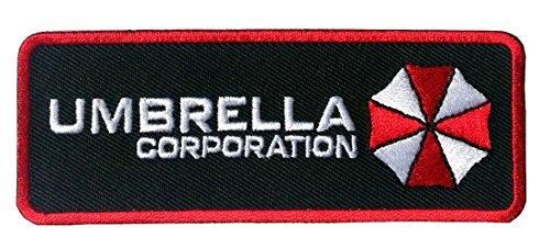 Preisvergleich Produktbild Resident Evil Rectangle Umbrella Corporation Logo Patch Aufnäher