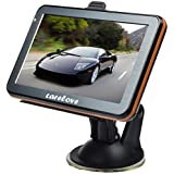 "Carelove 7 inch Car GPS Windows CE 6.0 4GB HD Screen Navigation System Navigator (5"")"