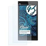 Bruni Schutzfolie für Xiaomi Mi3 Folie - 2 x glasklare Displayschutzfolie