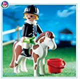 Pony and Playmobil girl (japan import)