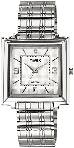 Timex Classics Analog Silver Dial Men's Watch - TI000R20300 image