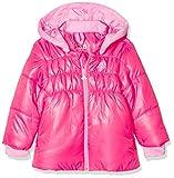 adidas Mädchen Baby Gefütterte Jacke, Bahia S14/Semi Pink Glow, 98