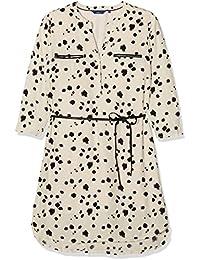 TOM TAILOR Damen Blusen Kleid printed blouse dress, Knielang