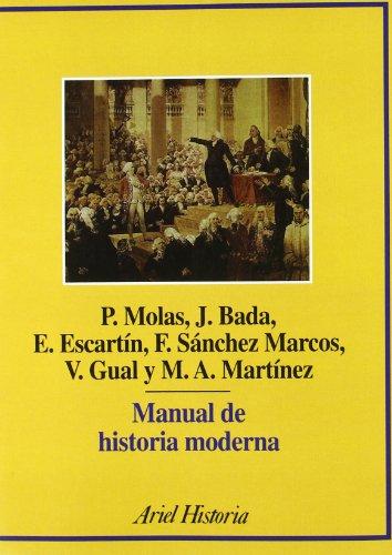Descargar Libro Manual de historia moderna (Ariel Historia) de Joan Bada Elías