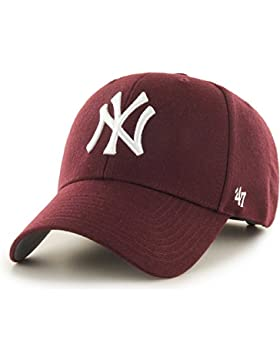GORRA 47 BRAND NEW YORK YANKEES Unisex-adulto DARK MAROON talla única