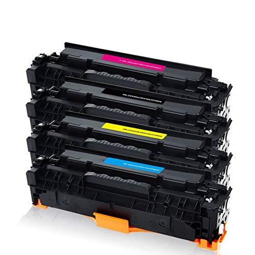 erbrauchsmaterial für Samsung CLT-506L CLP-680 680DW 680DN 6260FD 6260FW Schwarz Toner ideal geeignet vor allem für Tag-zu-Tag-Dokumente-4colors ()