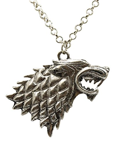 Game of Thrones Direwolf Stark Necklace