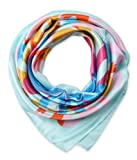 corciova Fashion Women's Big Silk Like Satin Hair Scarf Headdress Headscarfs 35